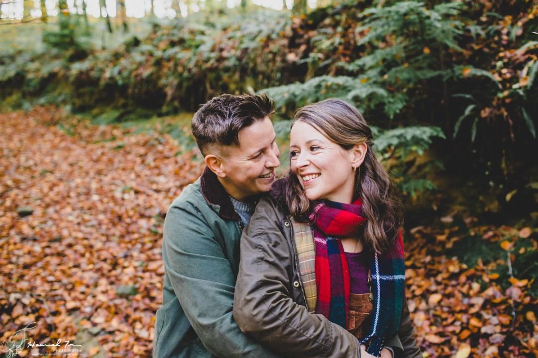 Engagement photos cornwall