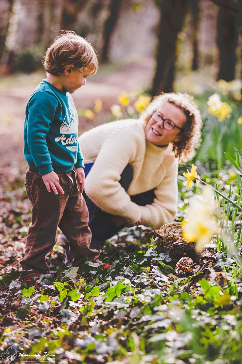 spring family photographs