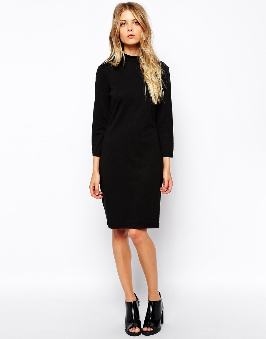 Vila high neck dress, £28
