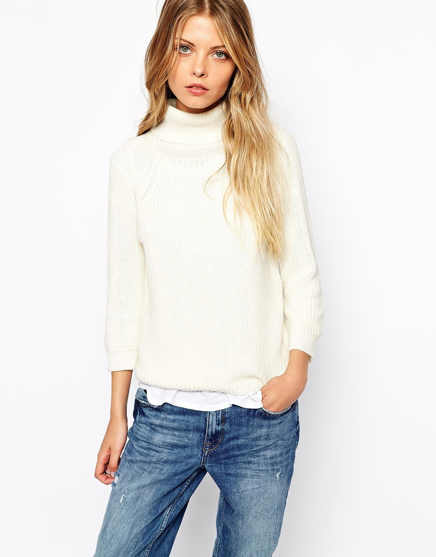 Vila roll neck jumper, £18