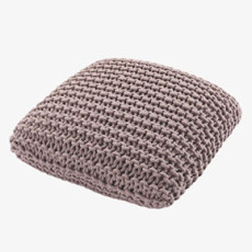 Habitat Pink rope cushion