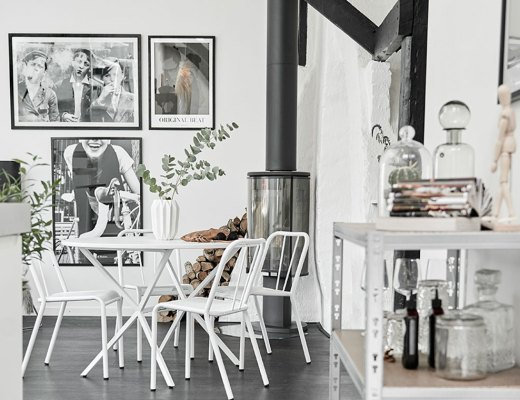 Swedish monochrome apartment