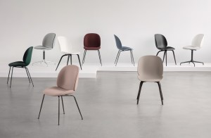 The Gubi Beetle chair collection
