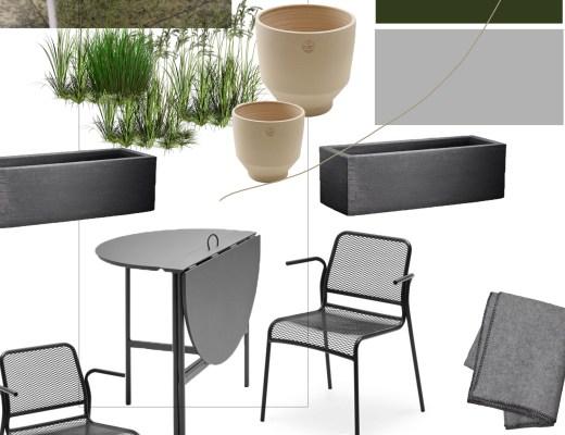 designing an awkward garden space