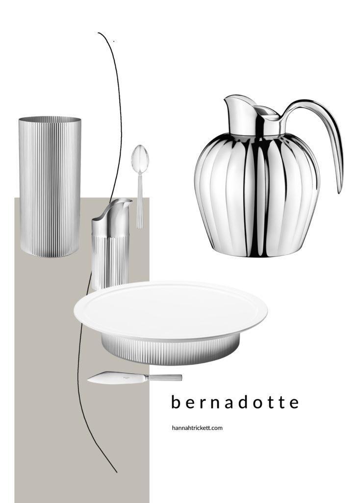 The Bernadotte collection a royal design with art deco elegance