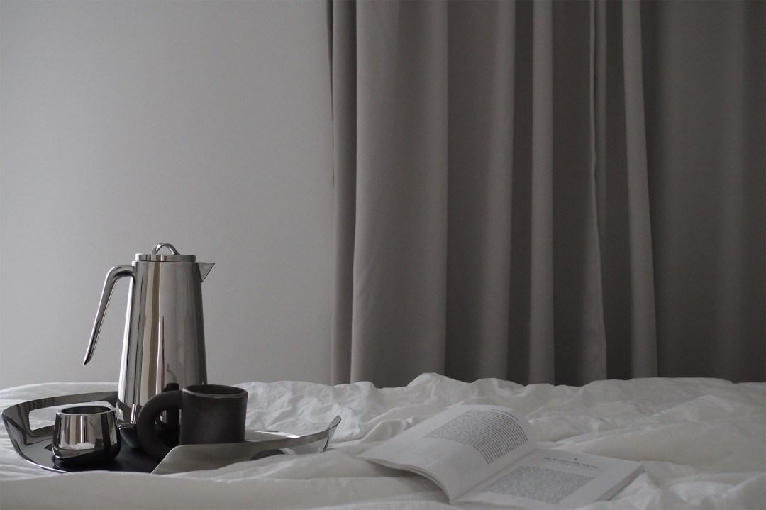 morning coffee with Georg Jensen, the Helix collection