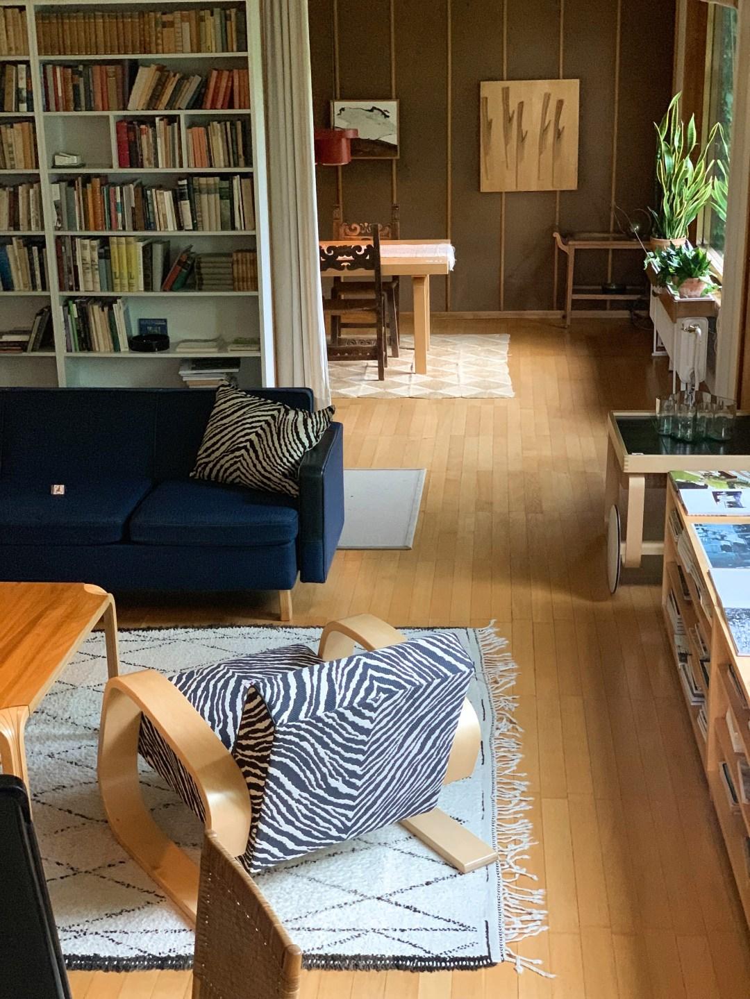 A modernist living room