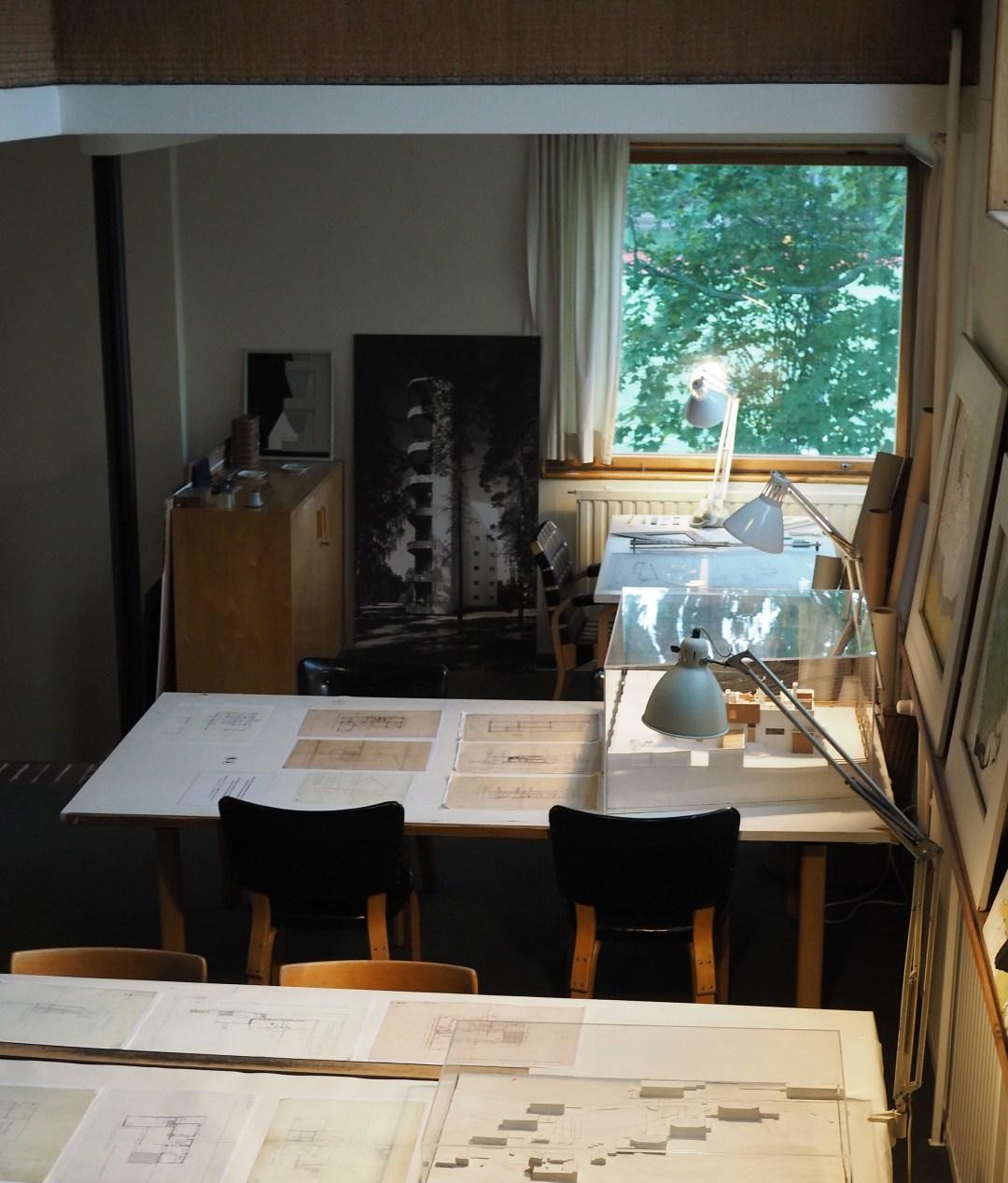 Alvar Aalto's home office