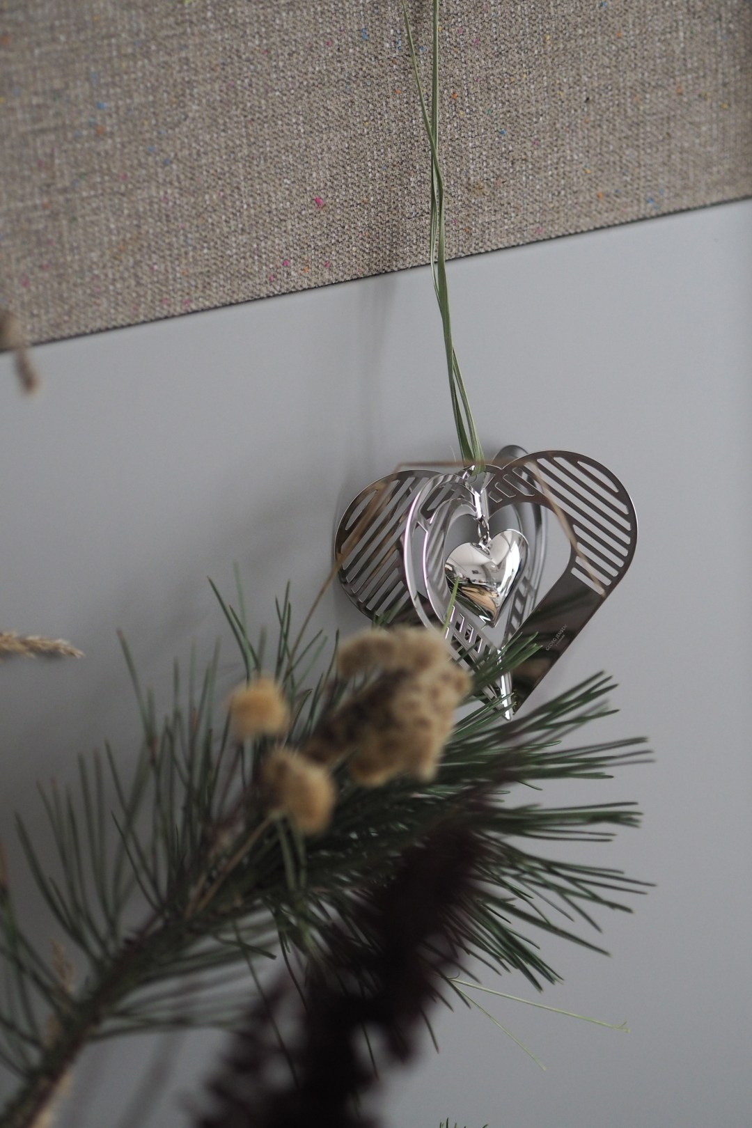 The Euro 2019 heart decoration Georg Jensen
