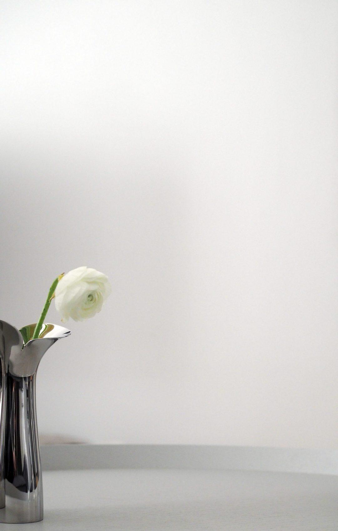 Simple minimal Danish vase - Bloom by Georg Jensen