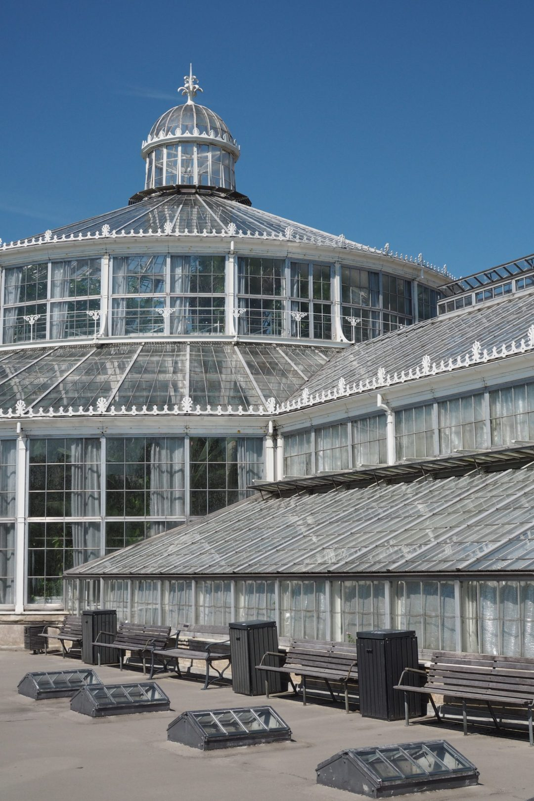 Glass house, the Palm house, Botanical Gardens Copenhagen