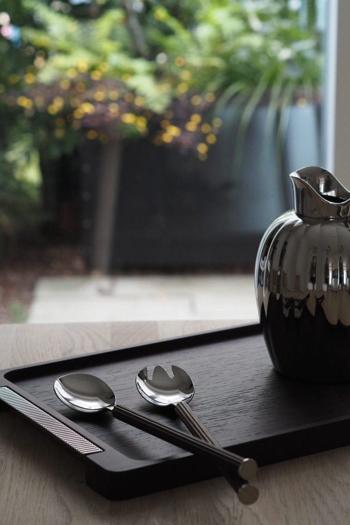 It's all in the details. New additions to the Bernadotte collection for Georg Jensen