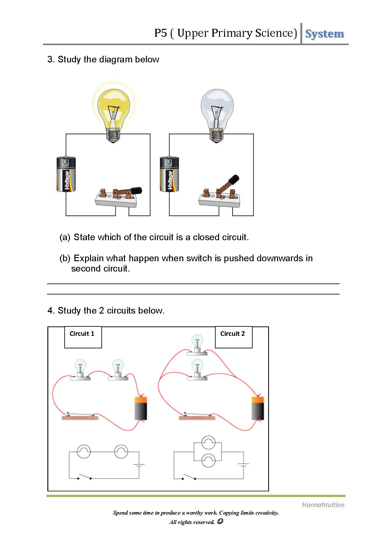 hight resolution of Science Electricity Worksheets 4th Grade   Printable Worksheets and  Activities for Teachers
