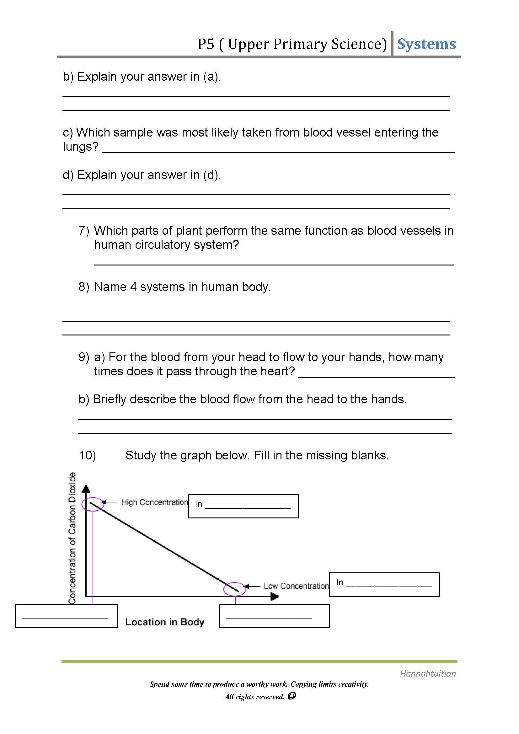 label heart diagram worksheet answers wiring house upper primary science human circulatory system