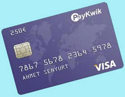 入金の際に使用するクレジットカード