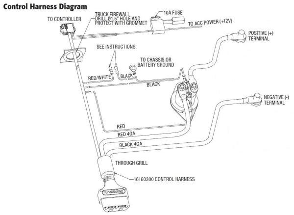curtis plow wiring harness  carriage schematics  bege