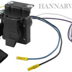 7 Way Flat Blade Trailer Wiring Diagram Cruise Control Chevrolet Hopkins 37185 Multi-tow And 4 Vehicle Plug | Hanna Supply