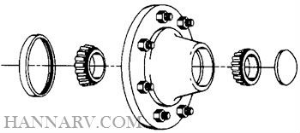 Redline LM67048 Replacement Outer Bearing for 8-201-5 and