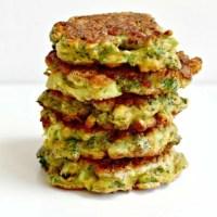 Jennifer's Spicy Broccoli Fritters