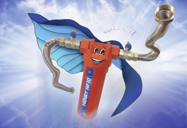 Superhenry, Henry HF10 der Heizungswasserfilter, Heizungsfilter, Hannemann Wassertechnik