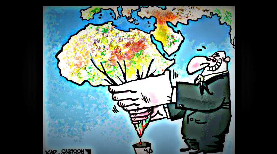 Looting Africa Tumblir Herland Report