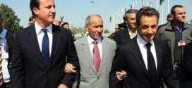 Cameron, Jalil and Sarkozy Libya war 2011
