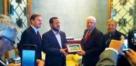 Abdelhakim Belhadj Al Qaida affiliate with John McCain