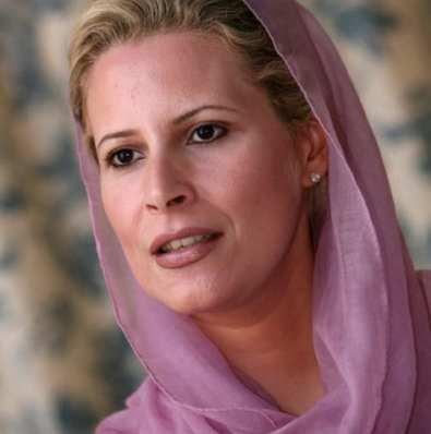Aisha Gaddafi Telegraph Herland Report