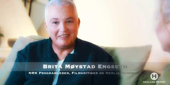 Brita Møystad Engseth sjokkerer som ny programleder på Herland Report – TEASER
