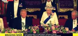 President Trump's splendid trip to UK, visit with Queen Elisabeth, while US mainstream media slanders notoriously #FakeNewsAgain, Hanne Herland, Herland Report