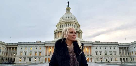 Hanne Nabintu Herland Report Capitol Hill Washington DC