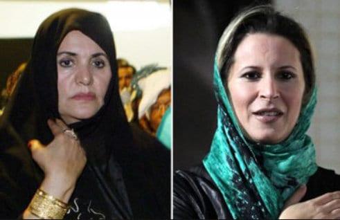 Safia Farkash Aisha Gaddafi Herland Report