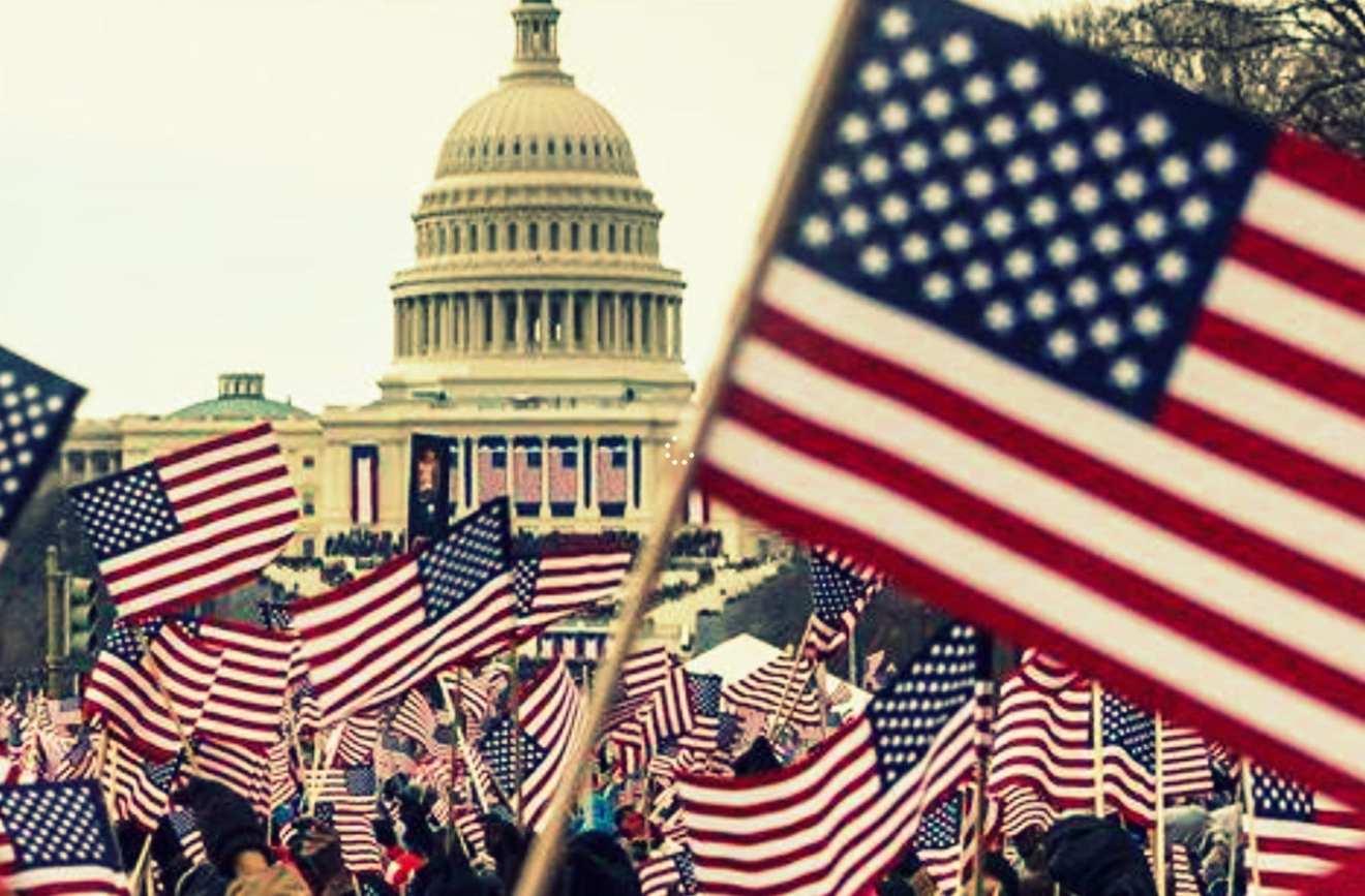 USA nationalism flag America Donald Trump