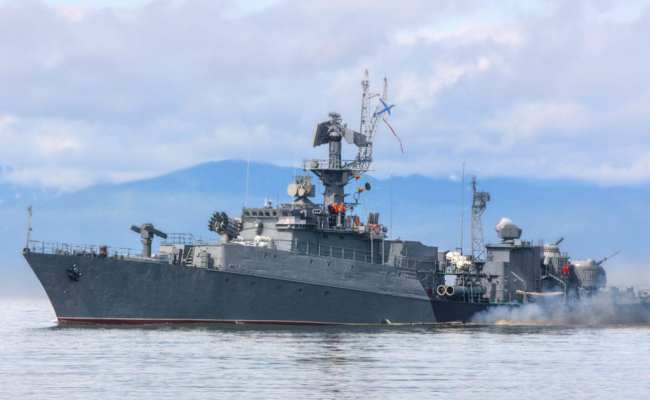 Russian Warships High Level Activity In North Sea Amid