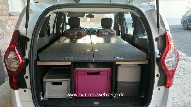 Hannes Mini Camper mit Ladebden & Wangen, hannes-webseite.de
