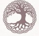 Keltsches Symbol Lebensbaum