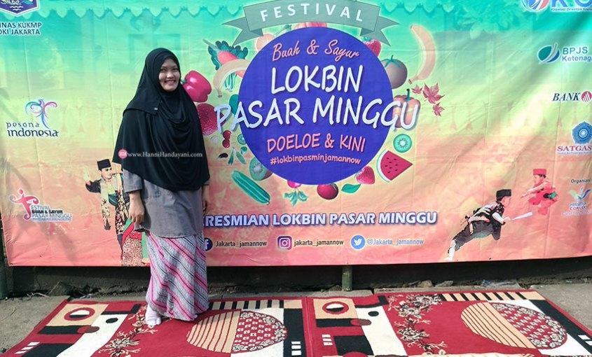 peresmian-lokbin-pasar-minggu dan festival buah sayur pasar minggu 2018