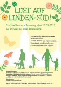 Lust auf Linden-Süd - Stadtteilfest auf dem Franzplatz