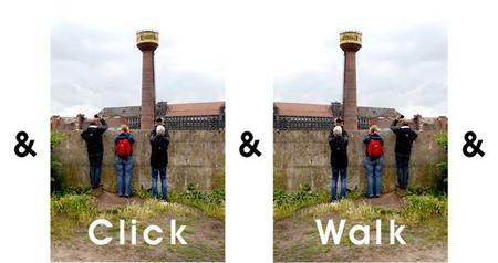 click & walk & click