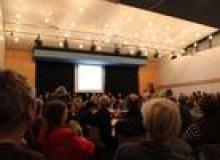 Rekordkulisse im Bezirksrat