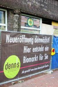 Hier entsteht ein Biomarkt für Sie