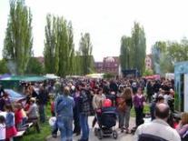1. Mai Fest auf dem Faustgelände