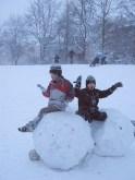 Schnee und Rodel gut