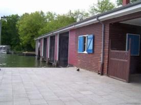 Bootshäuser am Maschsee