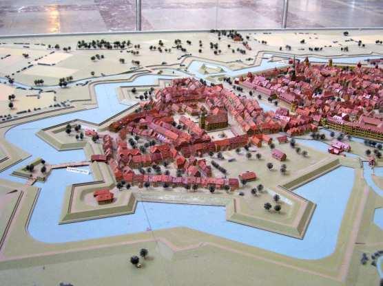 Stadtmodell von Hannover 1689