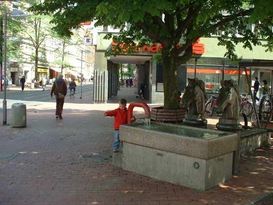 Pferdetränke an der Limmerstraße