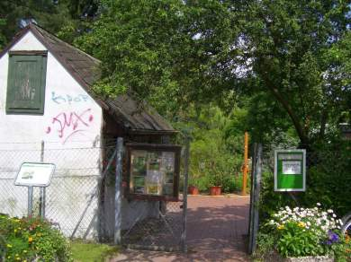 Eingang zum Schulgarten