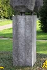 Inschrift August Holweg