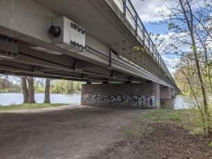 Brücke des Südschnellwegs