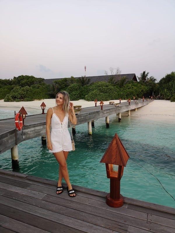 Malediven, Hanimadhoo, The Barefoot Eco Hotel, Maldives